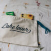 LAKE LOVER zip kit pouch