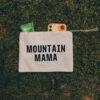 Mountain Mama zip mini kit pouch